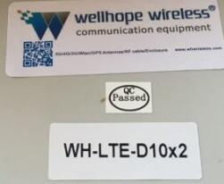 2019-9-29 WH-LTE-D10X2 4G Lora panel antenna on ship