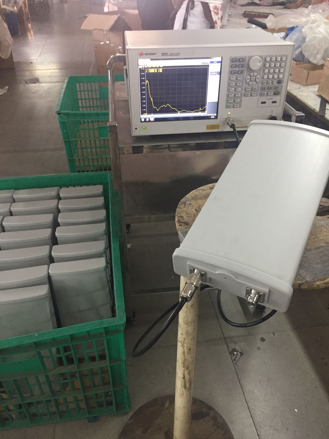 WH-LTE-D10X2 panel 4G mimo antenna on producing