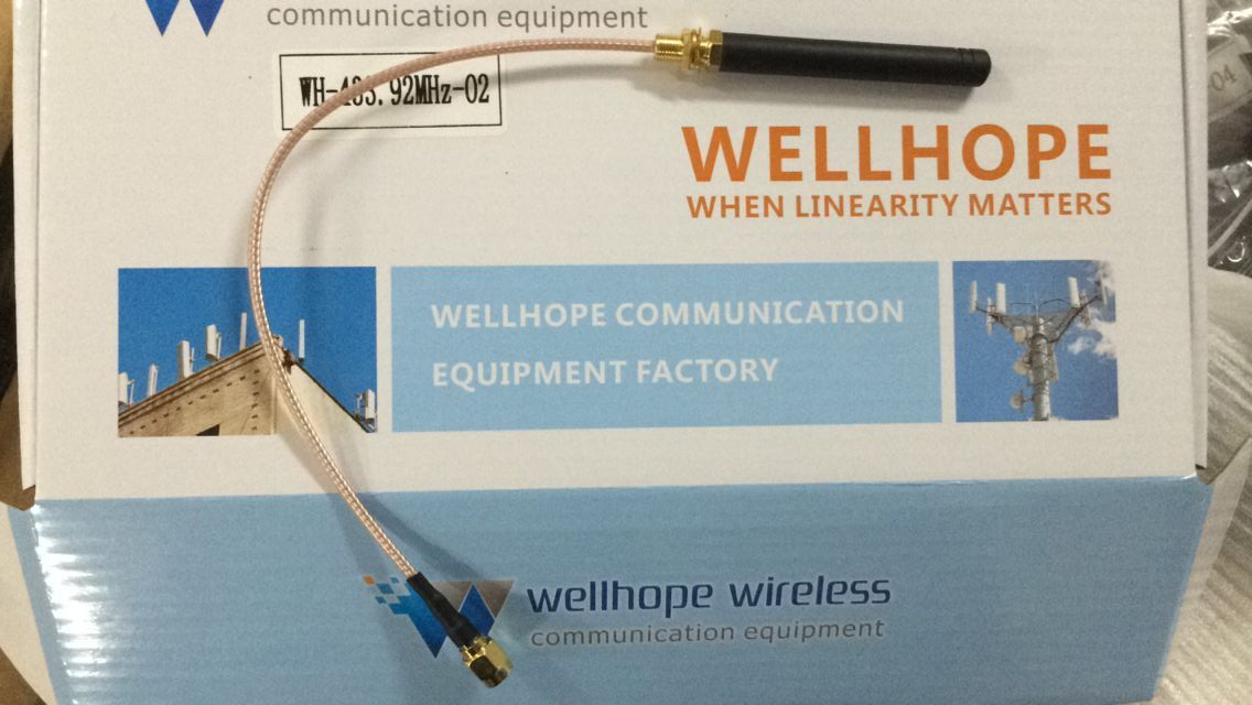 2018-8-20 2500pcs WH-G&C-O4 GSM rubber antenna and 500pcs 433MHz antenna WH-433.92MHZ-02 ready to ship